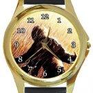The Shawshank Redemption Gold Metal Watch