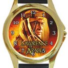 Lawrence of Arabia Gold Metal Watch