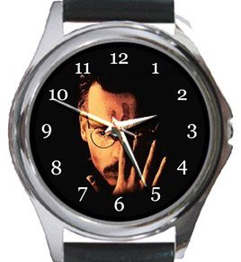 The Ninth Gate Round Metal Watch