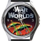 War of the Worlds Classic Movie Round Metal Watch