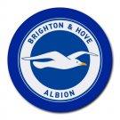Brighton & Hove Albion FC Heat-Resistant Round Mousepad