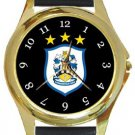 Huddersfield Town AFC Gold Metal Watch