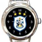 Huddersfield Town AFC Round Italian Charm Watch