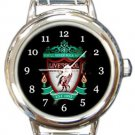 Liverpool Football Club Round Italian Charm Watch
