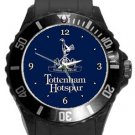 Tottenham Hotspur Football Club Plastic Sport Watch In Black