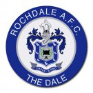 Rochdale AFC The Dale Heat-Resistant Round Mousepad
