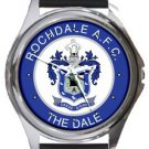 Rochdale AFC The Dale Round Metal Watch