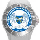 Peterborough United Football Club Plastic Sport Watch In White