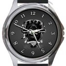 Arsenal Gunners Round Metal Watch