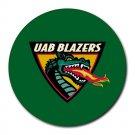 UAB Blazers Heat-Resistant Round Mousepad