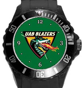 UAB Blazers Plastic Sport Watch In Black