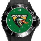 UAB Blazers Plastic Sport Watch In Black