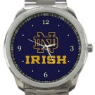 Notre Dame Fighting Irish Sport Metal Watch