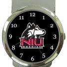 Northern Illinois NIU Huskies Money Clip Watch