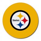 Pittsburgh Steelers Heat-Resistant Round Mousepad