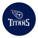 The Tennessee Titans Heat-Resistant Round Mousepad