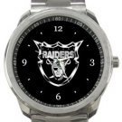 Oakland Raiders Sport Metal Watch
