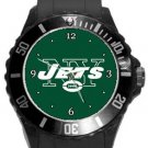 The New York Jets Plastic Sport Watch In Black