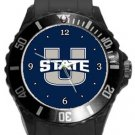 Utah State Aggies Plastic Sport Watch In Black