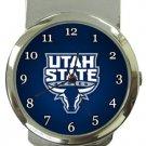 Utah State University Aggies Money Clip Watch