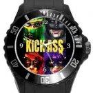 Kick-Ass Plastic Sport Watch In Black