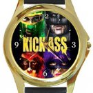 Kick-Ass Gold Metal Watch