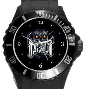 Tapout  Plastic Sport Watch In Black