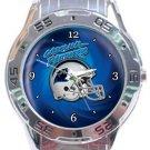 Carolina Panthers Helmet Analogue Watch
