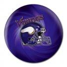 Minnesota Vikings Helmet Heat-Resistant Round Mousepad