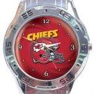 Kansas City Chiefs Helmet Analogue Watch