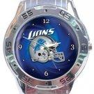 Detroit Lions Helmet Analogue Watch
