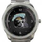 Jacksonville Jaguars Helmet Sport Metal Watch