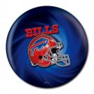 Buffalo Bills Helmet Heat-Resistant Round Mousepad