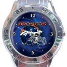Denver Broncos Helmet Analogue Watch