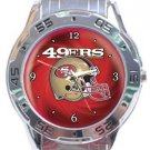 San Francisco 49ers Helmet Analogue Watch