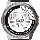 Columbia College Chicago Round Metal Watch