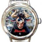 Funny Ferdinand Round Italian Charm Watch