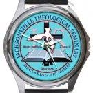 Jacksonville Theological Seminary Round Metal Watch
