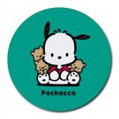 Pochacco Heat-Resistant Round Mousepad
