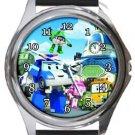 Robocar Poli Round Metal Watch