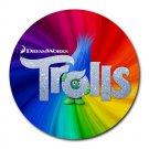 Trolls Heat-Resistant Round Mousepad