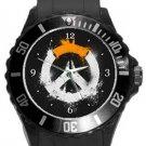 Overwatch Plastic Sport Watch In Black