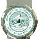 University of Oregon Money Clip Watch