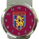 Aston Villa Football Club Money Clip Watch