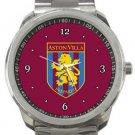 Aston Villa Football Club Sport Metal Watch