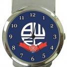 Bolton Wanderers FC Money Clip Watch