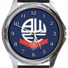 Bolton Wanderers FC Round Metal Watch