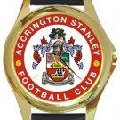 Accrington Stanley FC Gold Metal Watch