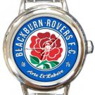 Blackburn Rovers FC Round Italian Charm Watch