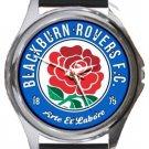 Blackburn Rovers FC Round Metal Watch